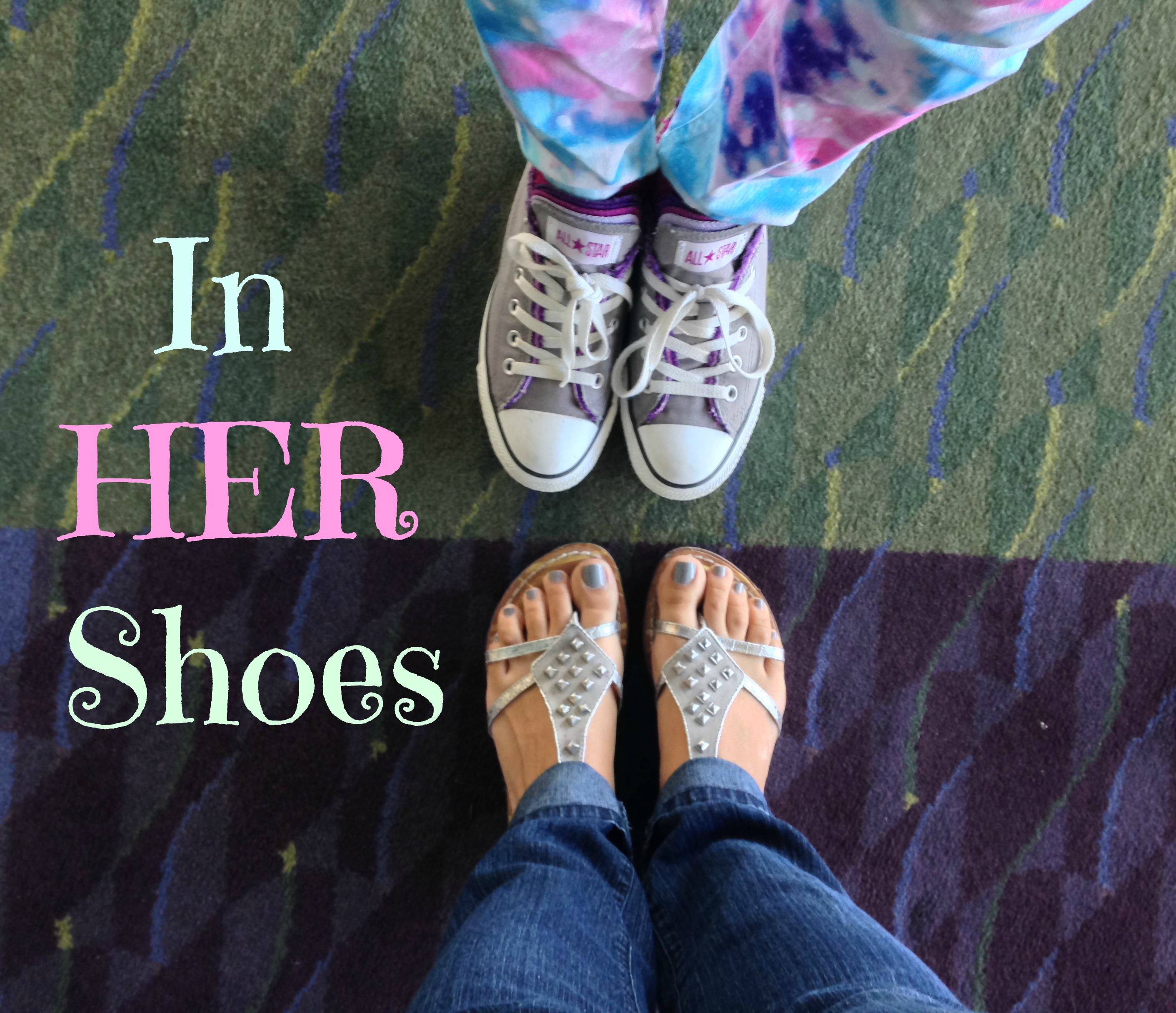 In her shoes / #WLdesigns #tbt