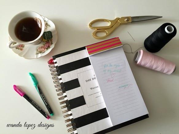notes goals & schedules / wandalopezdesigns