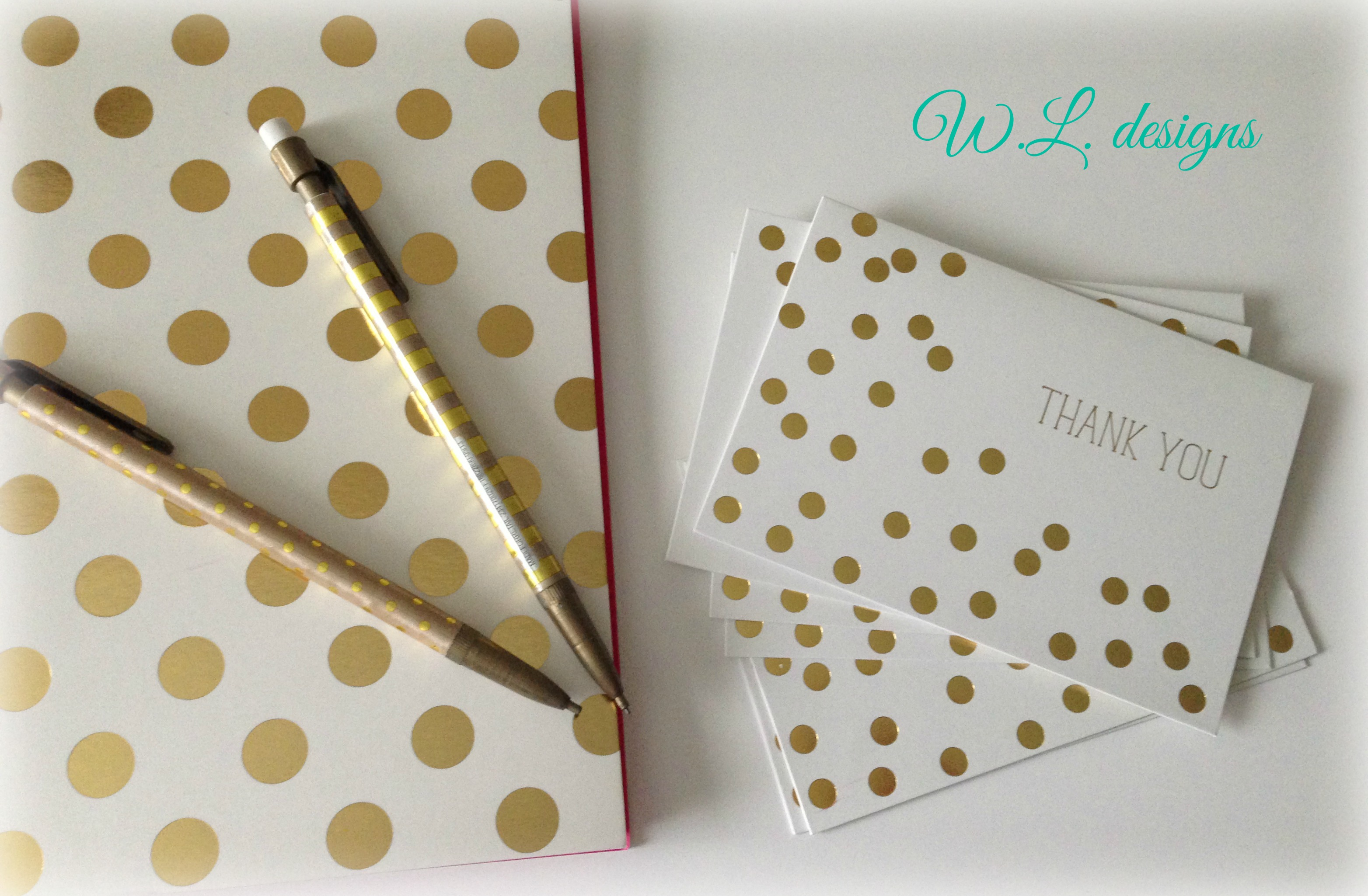 Thank You Note Cards / Wanda Lopez Designs
