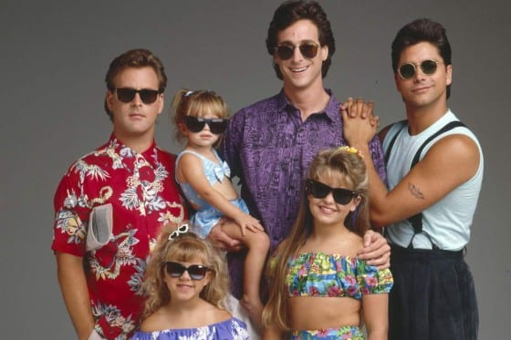 Full House cast, When Danny Tanner's wife dies, the San Francisco sportscaster gets support in the form of two new roommates: brother-in-law and party boy Jesse, and his stand-up comic friend, Joey. The duo helps out with raising the three Tanner daughters: D.J, Stephanie and Michelle.