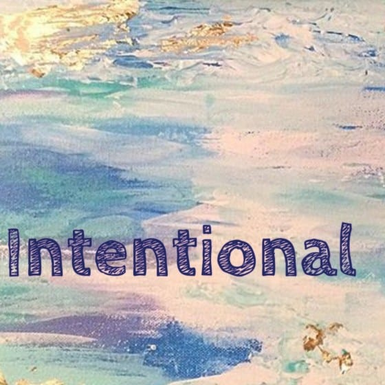 Intentional #wordoftheyear / by Wanda Lopez Designs - blog