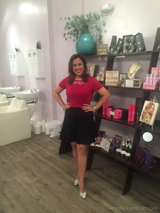 Just Blow It Dry Bar and Boutique in Orlando / for the girly, classy and stylish..yes, it's for you! / images and post by Wanda Lopez Designs - blog /