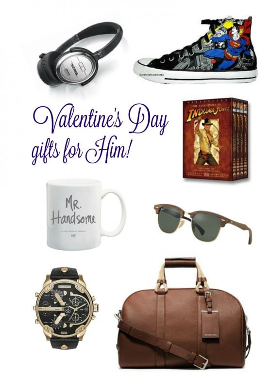 His and Hers Valentine's Day Gift Guide / curated collection of items our love one wants for Valentine's Day / by Wanda Lopez designs - blog #giftguide #ValentinesDay