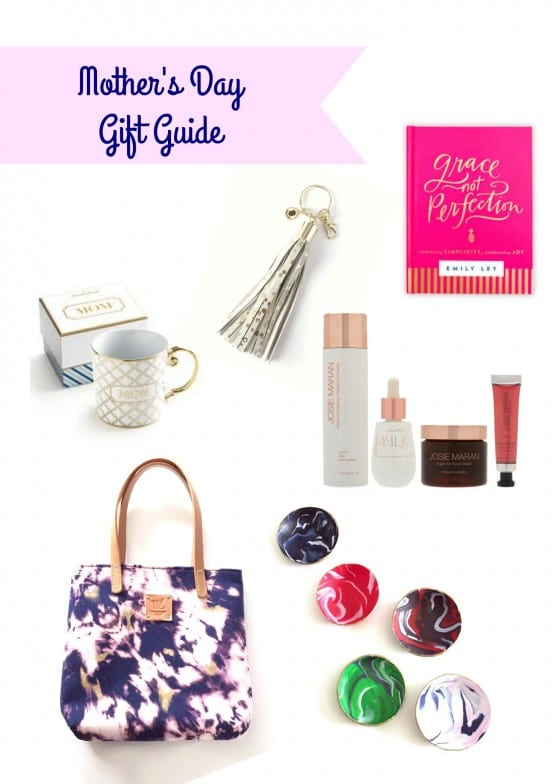 Mother's Day Gift Guide / gift ideas with an easy handmade gift for you, your mom, sister or friend / by Wanda Lopez Designs - blog #MothersDayGiftGuide
