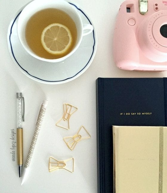 Kate Spade office supplies / blog post: 5 Desktop Must Have / if you have a desk you need this items / they are functional, girly and you want them in your life /