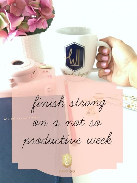 Not having a very productive week? I hear you. Unproductive weeks are more common than you think. Here are some tips I follow to stay on task. #WLDBizTalk