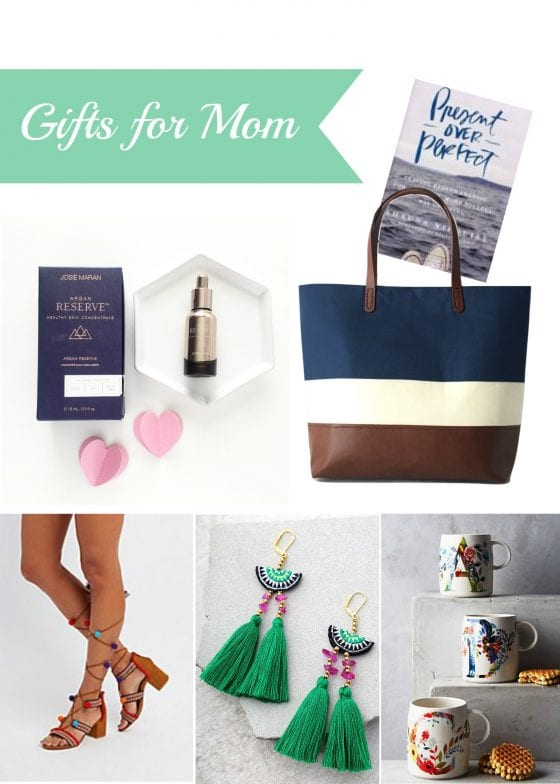 Gifts for mom and that special woman in your life. You will want to buy two of each present. One for mom and one for you! / Mother's Day - gifts for her at wandalopez.com #blog