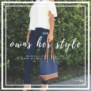 She Owns Her Style find this handbag @ wandalopezshop.com