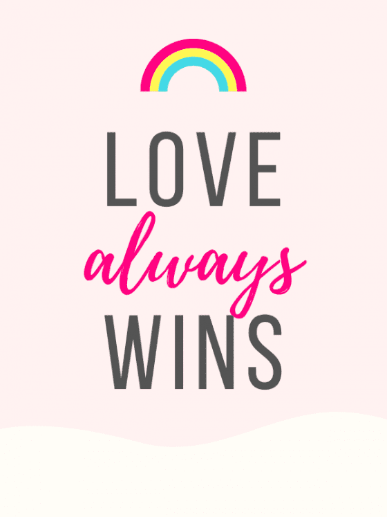 motivational quote for download-Love Always Wins- by wandalopezdesigns